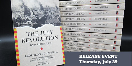 """""""The July Revolution"""" Virtual Book Release tickets"""