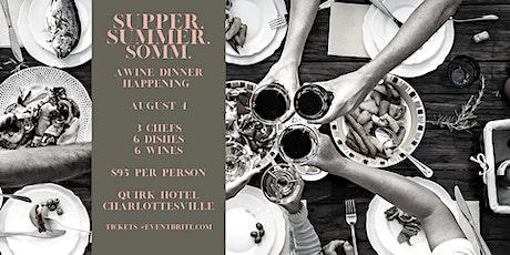 Supper. Summer. Somm. tickets
