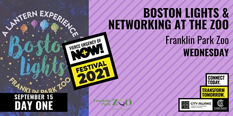 Boston Lights & Networking at the Zoo - Fierce Urgency of Now! tickets