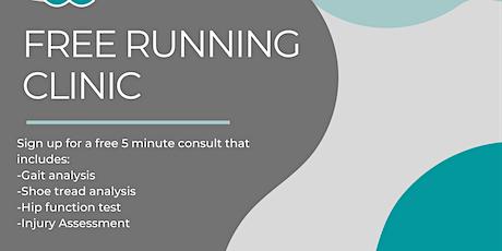 Free Running Clinic tickets