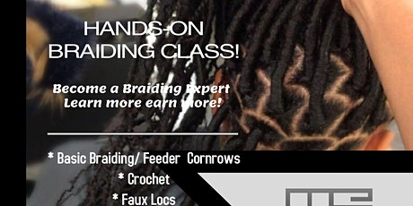 Advanced Hair Braiding 4 Week Certification Program- (IN EVERY STATE) tickets