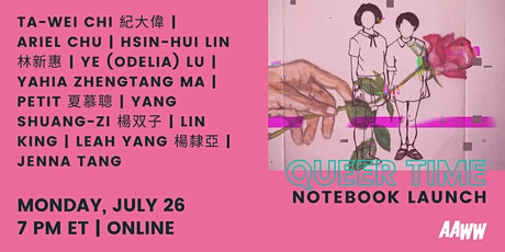 Queer Time: A Notebook of Taiwanese Tongzhi Literature / 酷兒時間:台灣同志文學 tickets