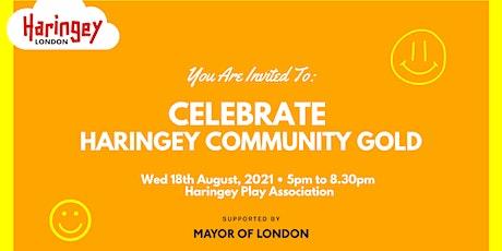 Celebrating Haringey Community Gold tickets