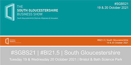 #SGBS21 | #BI21.5 - South Gloucestershire Festival of Business & Innovation tickets