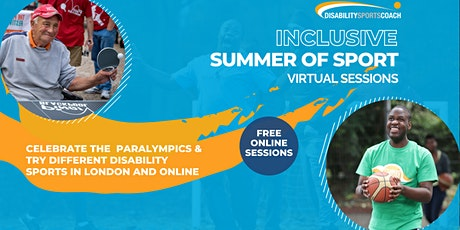 Disability Sports Coach Inclusive Summer of Sport tickets