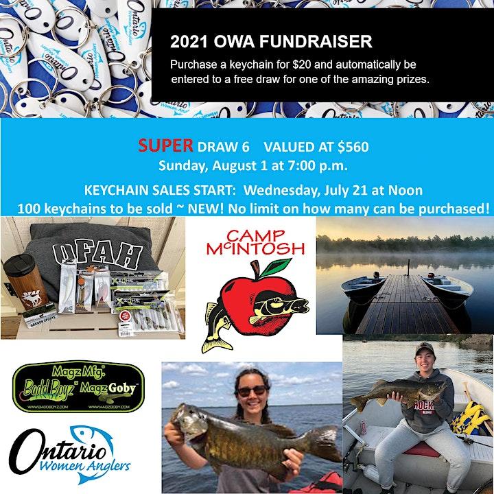 DRAW 6 - Ontario Women Anglers - 2021 Fundraiser image