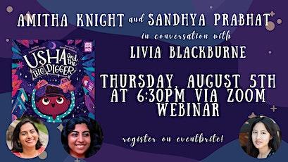 LAUNCH: Amitha Knight & Sandhya Prabhat in conversation w/ Livia Blackburne tickets