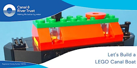 Let's Build! Build your own LEGO narrowboat - Trent lock tickets
