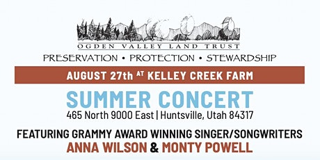 Ogden Valley Land Trust Summer Concert tickets