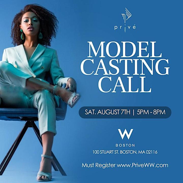 Boston Model Casting Call @ W hotel- Saturday, August 7th 2021 image