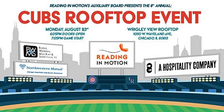 Reading In Motion's 8th Annual Cubs Rooftop Event tickets