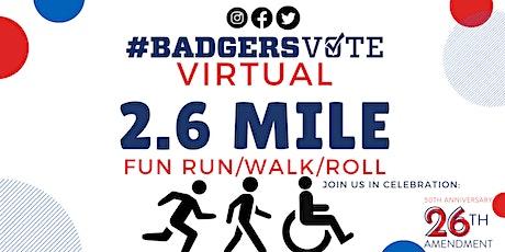 Virtual 2.6 Mile Fun Run/Walk/Roll for the 26th Amendment tickets