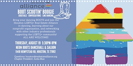 Boot Scootin' Boogie Networking, LGBTQ+ Real Estate Alliance Houston tickets