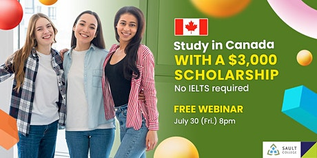 Study in Sault College Canada with a $3,000 Scholarship tickets