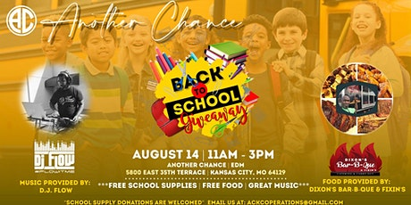 BACK TO SCHOOL GIVEAWAY tickets