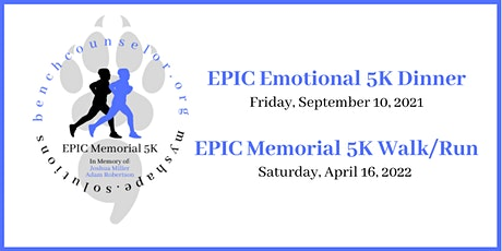 EPIC 'Emotional' 5K Dinner and Fundraiser tickets
