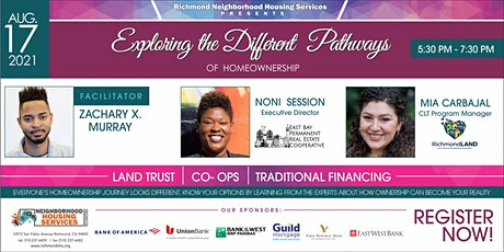Changing the Narrative - The Different Pathways to Homeownership tickets