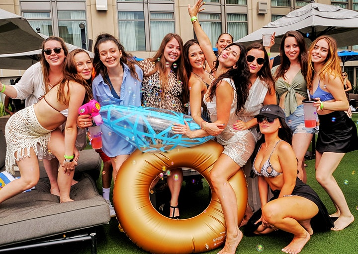 Limited Comp  Entry • Hard Rock Float Pool Party • Liquid Sunshine  • 7/24 image