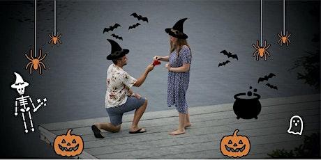 Eva and Tim's FRIDAY NIGHT Halloween Wedding Social tickets