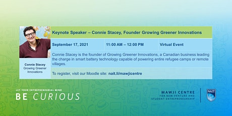 Keynote Speaker - Connie Stacey, Founder Growing Greener Innovations tickets