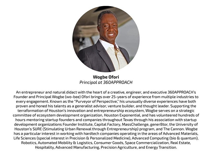 Texas Startup Scene & Ask Me Anything with Wogbe Ofori image