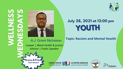 Racism and Mental Health - Youth tickets