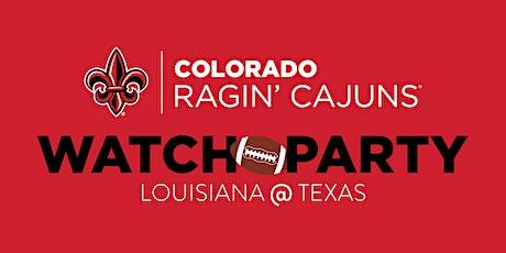 Colorado Ragin' Cajun Club Watch Party tickets