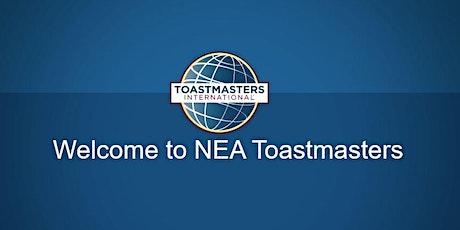 NEA Toastmasters Meeting tickets