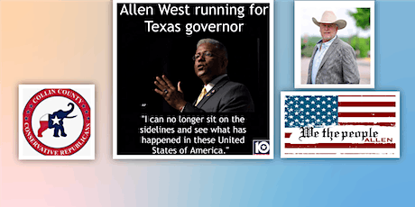 Gubernatorial Candidate Allen West with special guest Carey Council tickets