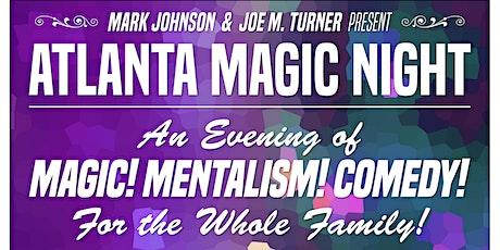 Atlanta Magic Night! w/ Joe M. Turner + Eric Anderson + Magic Katrina! tickets