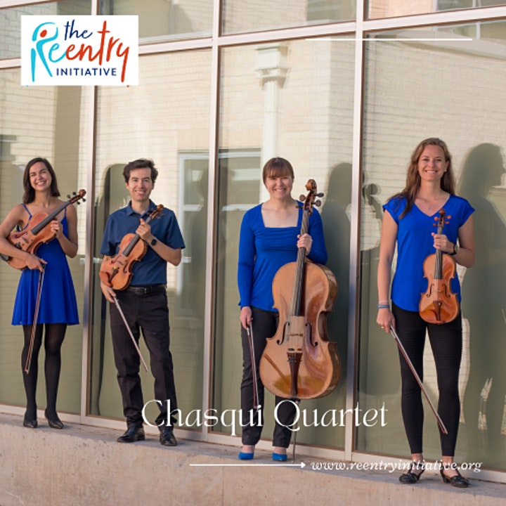 """""""From Surviving to Thriving"""": A Benefit Concert with the Chasqui Quartet image"""
