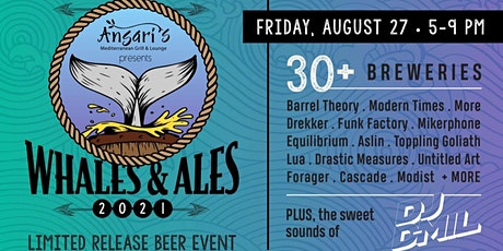 Whales & Ales (Limited Release Beer Event) tickets