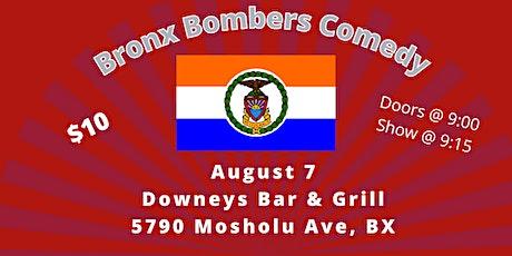 Bronx Bombers Comedy tickets