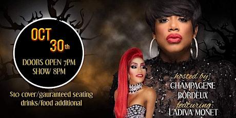 Halloween  Show &  Contest with LaDiva Monet ~ tickets