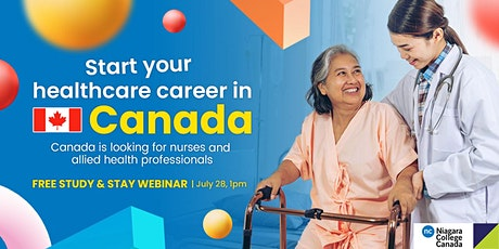 Start your health care career in Canada through Niagara College tickets
