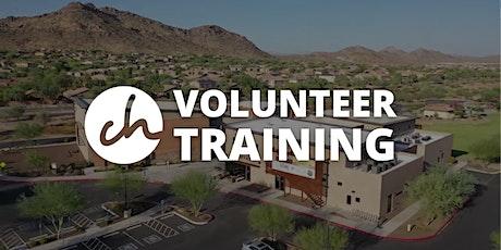Copper Hills Volunteer Training tickets