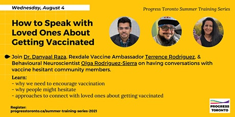 Training Series: How to Speak with Loved Ones About Getting Vaccinated tickets