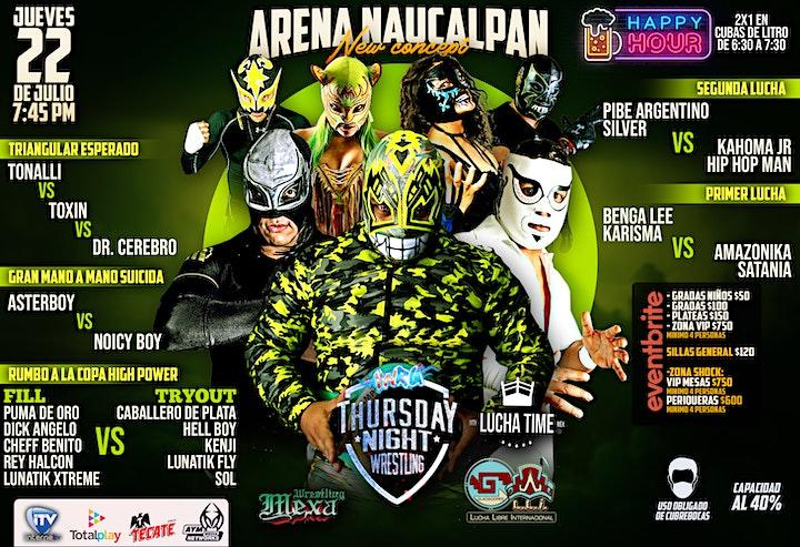 Imagen de Lucha Libre IWRG Thursday Night Wrestling 2021