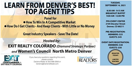 Women's Council North Metro Denver - SEPTEMBER 14, 2021 EVENT tickets
