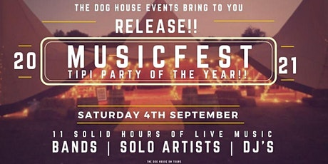 RELEASE!! The Dog House on Tour Music Festival tickets