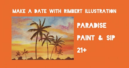 Paradise Paint and Sip tickets