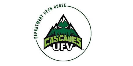 UFV Athletics Open House tickets