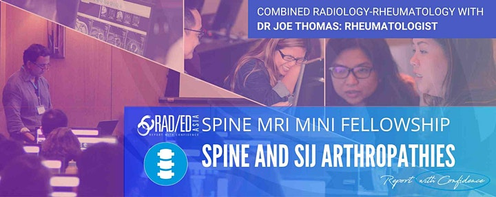 SPINE MRI ONLINE GUIDED MINI FELLOWSHIP IN SPINE AND SIJ ARTHROPATHIES image
