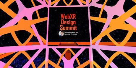 WebXR Design Summit tickets