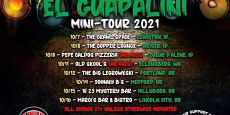 Big D & Kuttl3ss Present: The BagChasers ElGuapalini  Tour Lincoln City OR tickets
