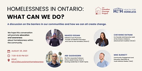 Homelessness in Ontario: What Can We Do? tickets