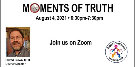Moments of Truth tickets