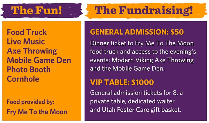 Utah Foster Care's Fostering Hope Benefit image