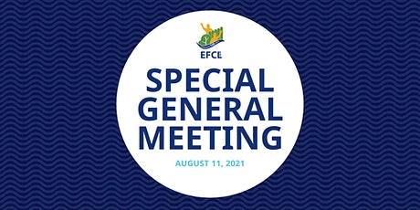 Special General Meeting tickets