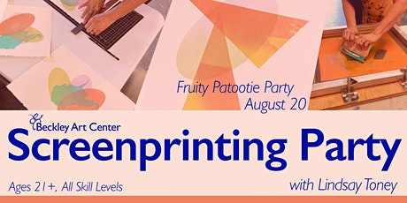 Screenprinting Party: Fruity Patootie Theme tickets